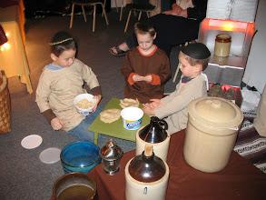 Photo: Fri, Dec 5/08 - the pottery shop, Jacob Britton, Anson Green, Liam Britton