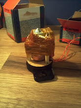 Photo: some Kapton around the wires and Extruder. it sure will put the Tape to the test! :)