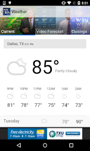 WFAA-North Texas News, Weather- screenshot thumbnail