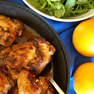 Middle Eastern Glazed Chicken