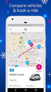 Free2Move - The Carsharing App - náhled