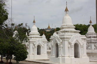Photo: Year 2 Day 55 -  More Stupas at Kuthodaw Paya