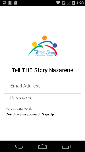 Tell THE Story Nazarene
