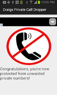 Craig's Private Call Dropper!- screenshot thumbnail
