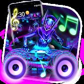 Tải 3D Neon DJ Music Launcher APK