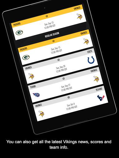 Minnesota Vikings Mobile screenshot 14