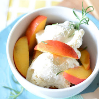 Grilled Pound Cake with Nectarines