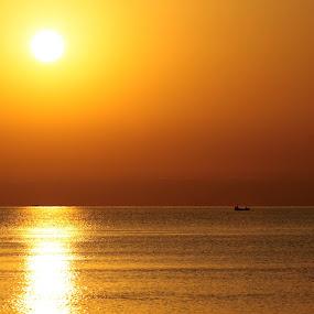 marina 1 by Mihai Nita - Landscapes Sunsets & Sunrises ( water, ship, sunset, sea,  )