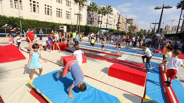 Imagen de la actividad organizada por el Patronato Municipal de Deportes de Almería.