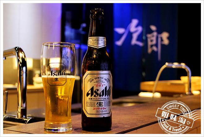 次郎本格日本料理生啤酒