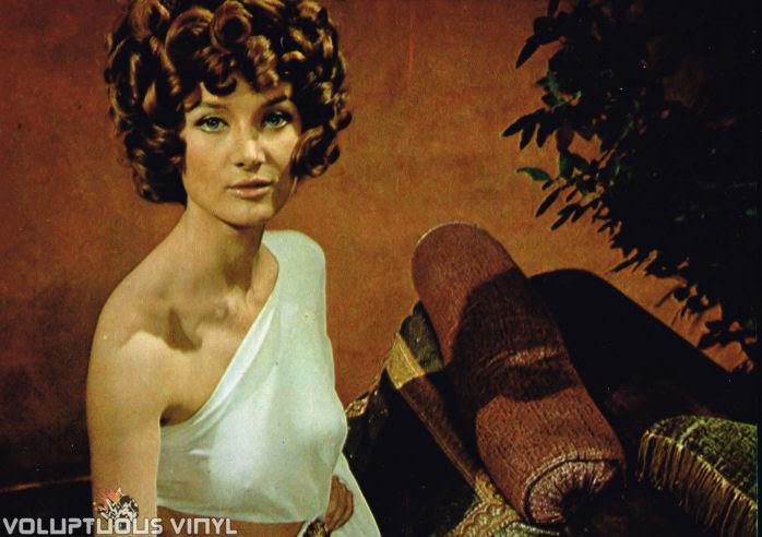 Barbara Bouchet roman goddess in The Golden Ass
