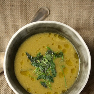 Asparagus Potato Leek Soup