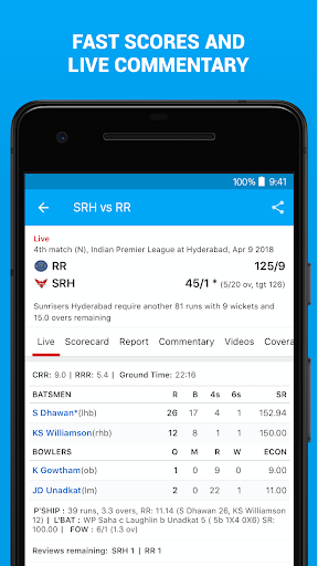 ESPNCricinfo - Live Cricket Scores, News & Videos 6.1.1 screenshots 6