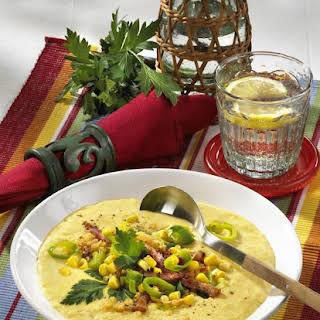 Corn and Lentil Soup.