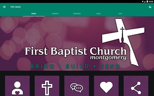First Baptist Montgomery - náhled