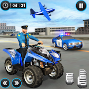 US Police ATV Quad Bike Plane Transport Game APK for Ubuntu