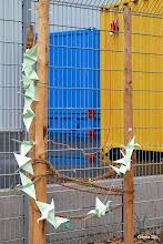 Photo: Eine Kranich-Kette -Symbol der Hoffnung und Verbundenheit mit den Menschen in Japan.