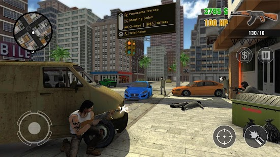 Clash of Crime Mad City War Go Screenshot