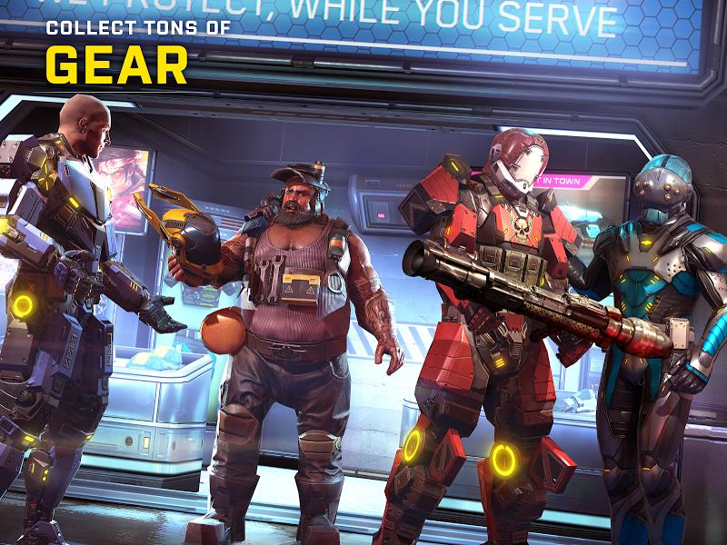 SHADOWGUN LEGENDS: Multiplayer FPS Shooting game Screenshot 12
