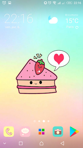 Kawaii food wallpapers cute backgrounds images apk - Kawaii food wallpaper ...