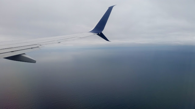 Over the Atlantic