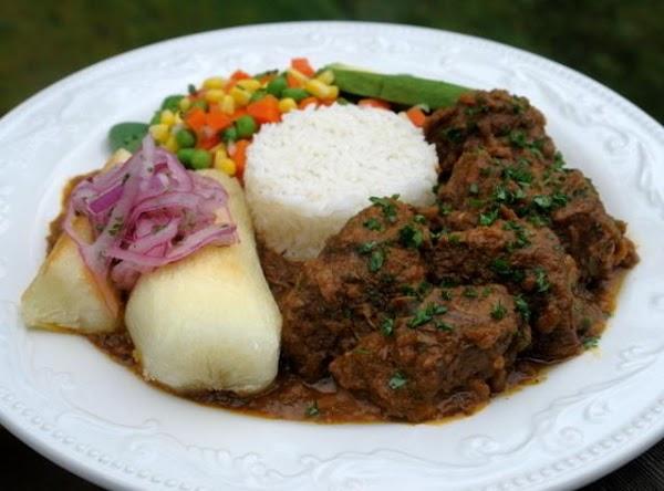 Peruvian Lamb Stew/seco De Cordero Recipe