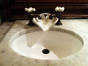 Photo: Innovative Solution to Mixer Taps
