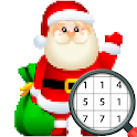 Christmas Pixel Art - Color by No. Coloring Pages icon