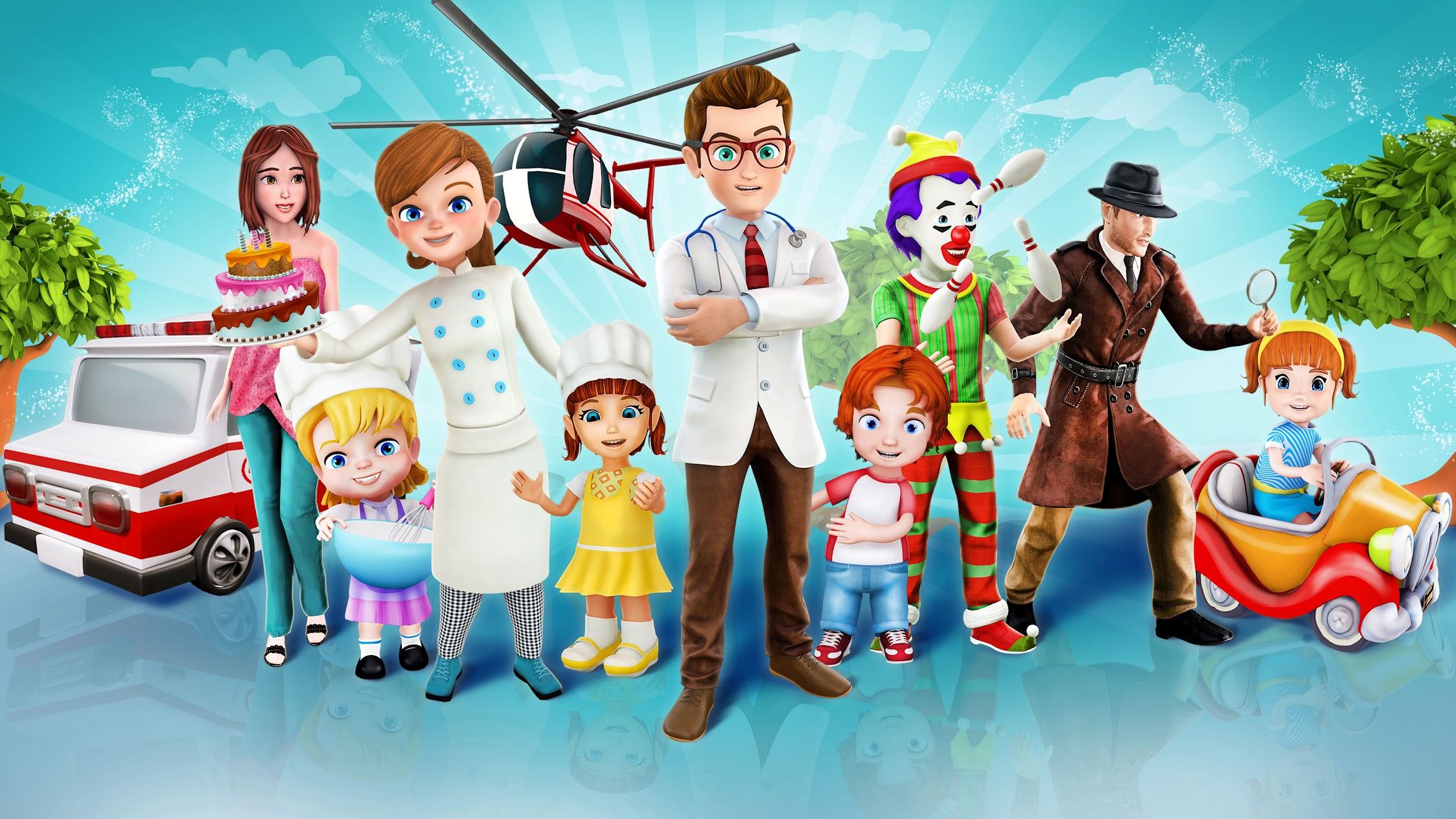 Happy Baby Games - Free Preschool Educational Apps