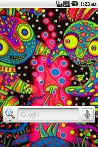 Trippy Hippy Live Wallpaper Screenshot 3