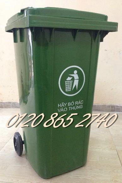 Bán thùng rác 120L, thùng rác 240L, thùng rác 660L, thùng rác giá rẻ
