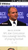 Screenshot of CBS News