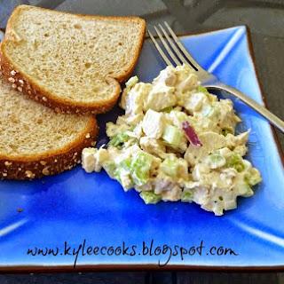 Classic Crunchy Chicken Salad