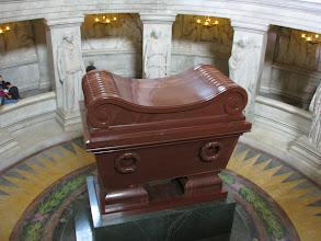 Photo: The sarcophagus of Napoleon