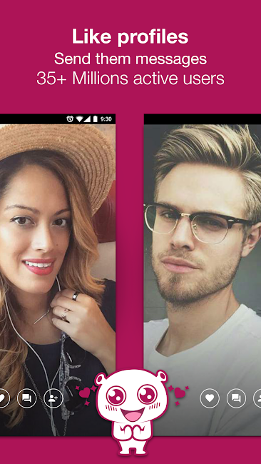 #2. Waplog Chat & Free Dating (Android)