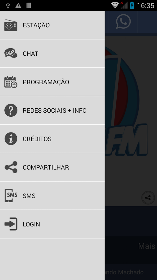 Monte FM 96,7 Monte Carmelo MG- screenshot