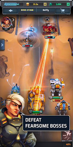Idle War u2013 Tank Tycoon 0.4.3 screenshots 5