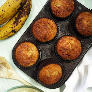 Banana Muffins No Baking Powder Recipes.