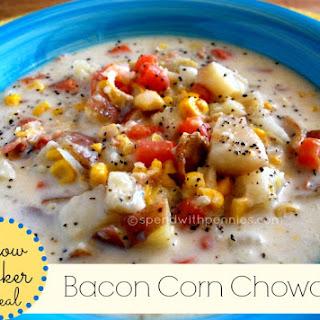 Creamy Bacon Corn Chowder