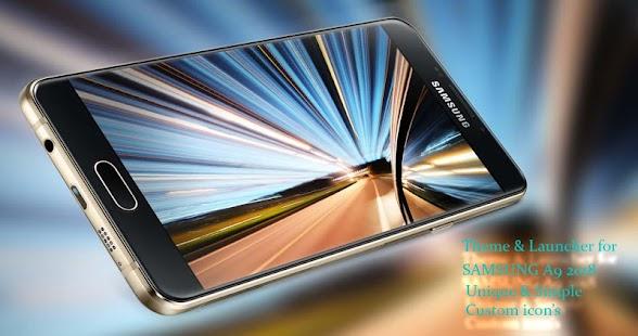Theme for Galaxy A9 2018 ( Samsung) - náhled