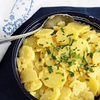 Austrian Potato Salad.