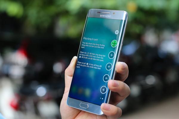 Samsung Galaxy S6 Edge Plus Dual Sim có cùng cấu hình với bản 1 sim vô cungd mạnh mẽ