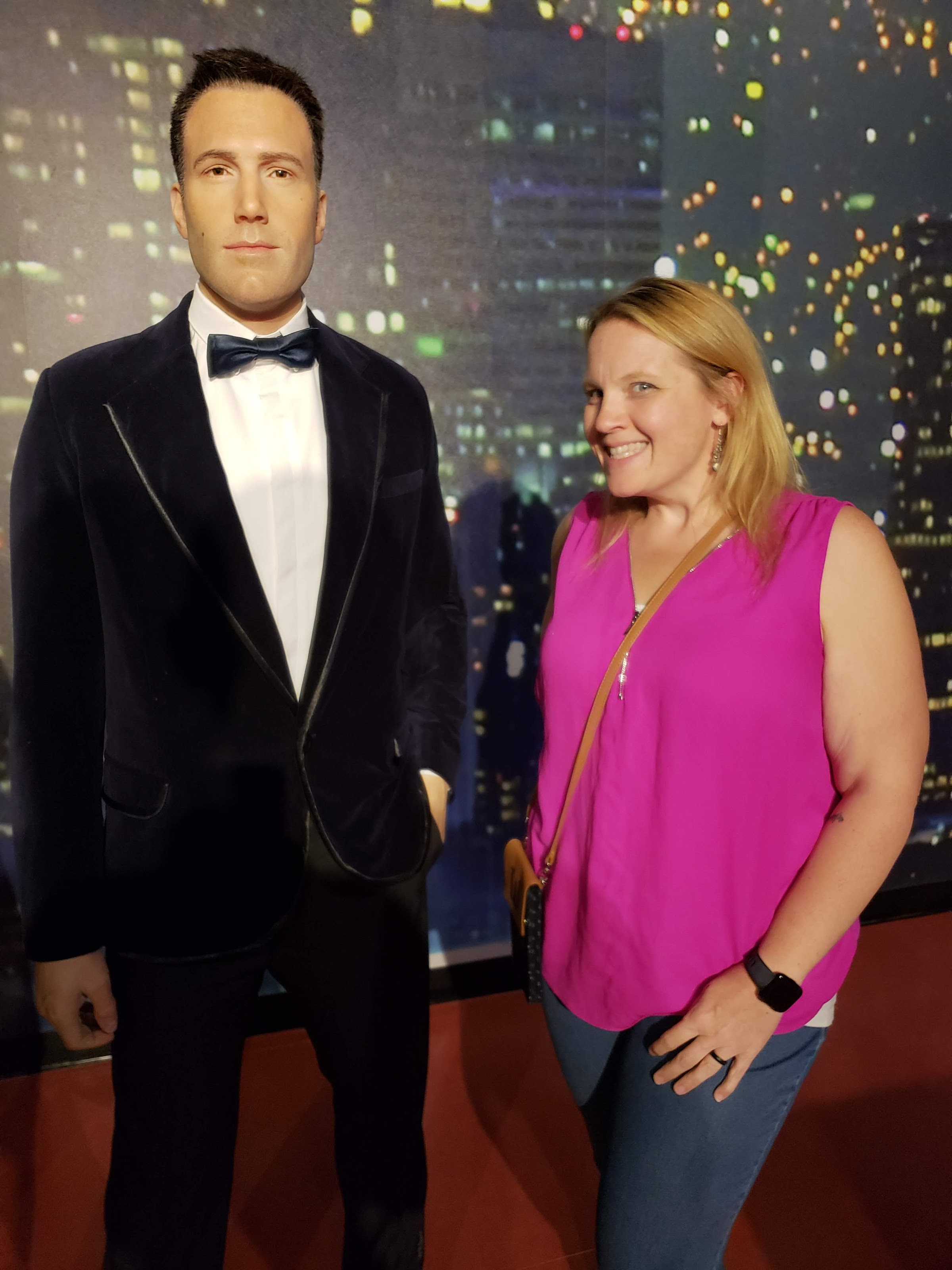 ben affleck wax figure