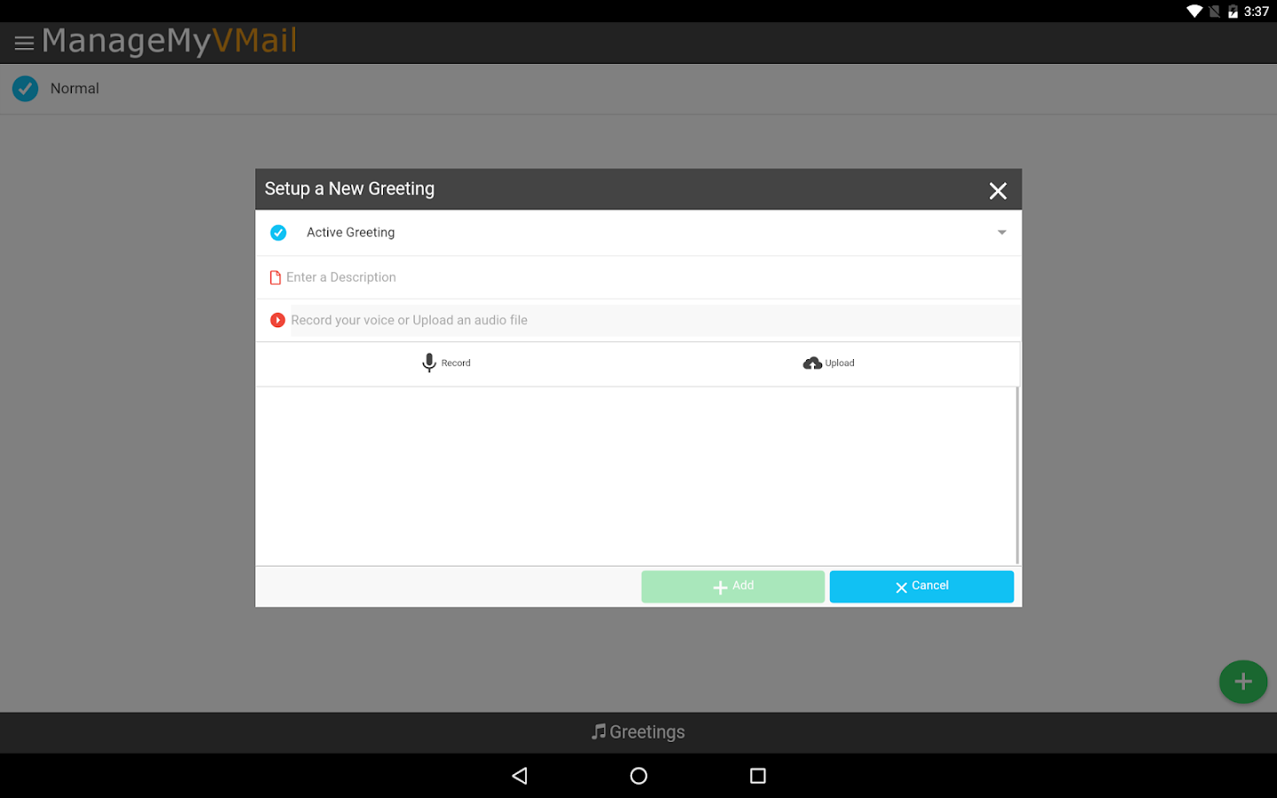 ManageMyVMail- screenshot