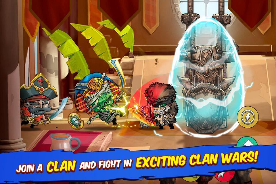 Tiny Gladiators– captură de ecran