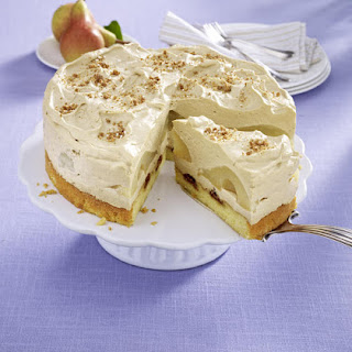 Pear and Vanilla Mascarpone Cake.