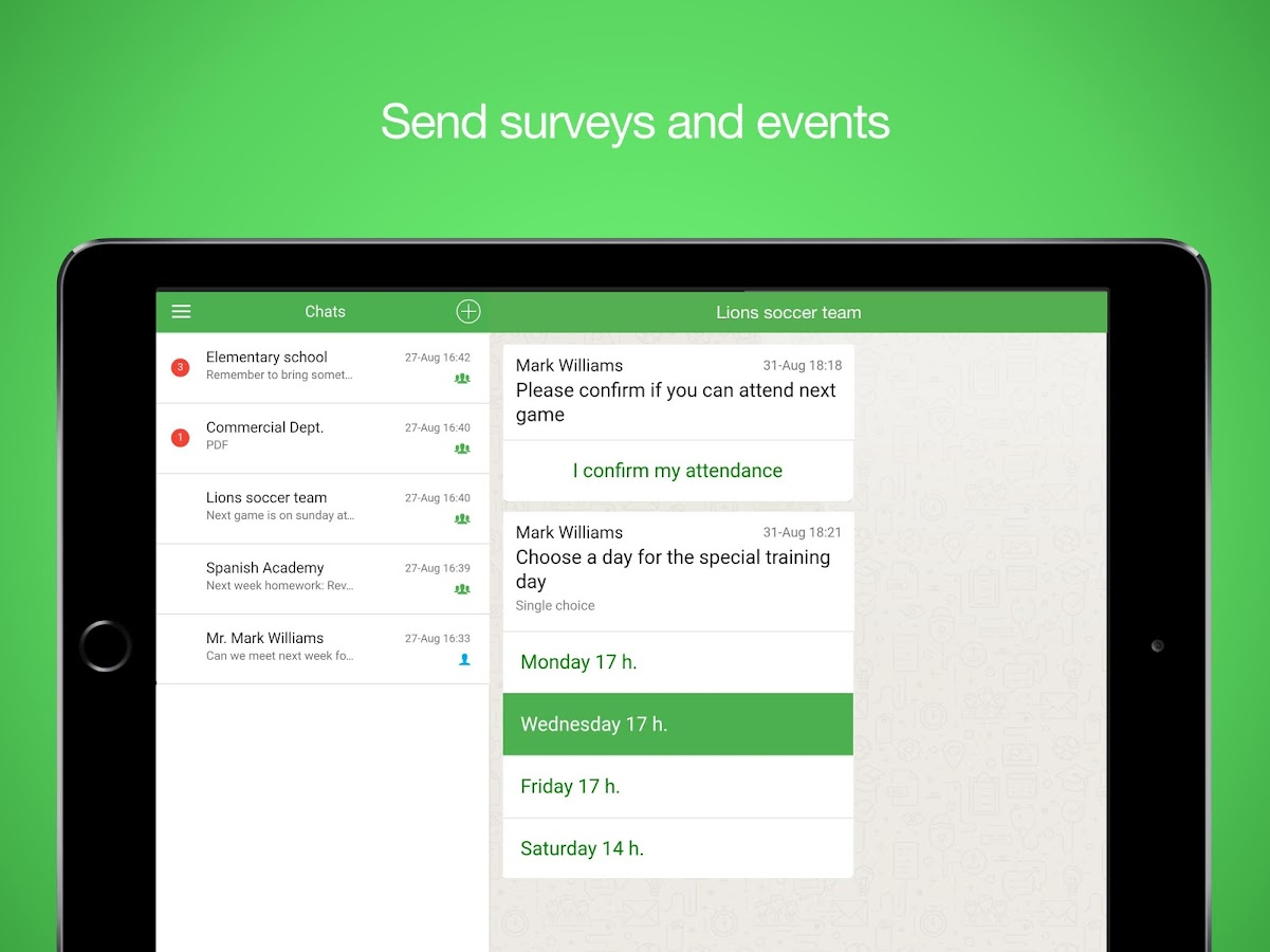 Groupnote Messenger- screenshot