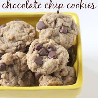Vegan Gluten Free Chocolate Chip Cookies.