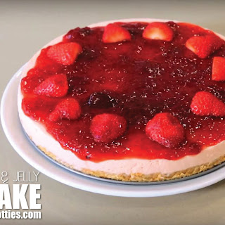 Strawberry Cheesecake With Jelly Recipes.