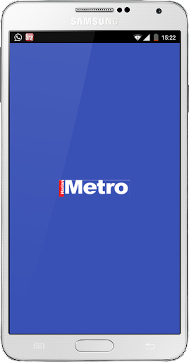 MyMetro Unofficial RSS Reader